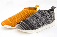 3D-Printed Knit Sneakers - These Kicks Made From Polymer Yarn are Completely Recyclable