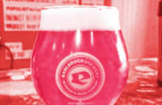 This Pink Beer is Naturally Dyed with Tiny South American Bugs