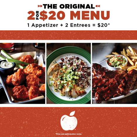 Customizable Entree Combos - This Applebee's Menu Makes Trying Different Dishes Affordable