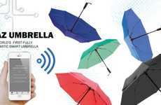 Internet-Connected Umbrellas