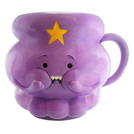 Cult Cartoon Cups - This Molded Adventure Time Mug is Shaped Like the Character Lumpy Space Princess