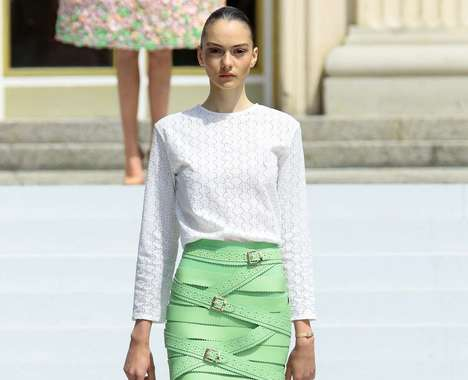Exaggerated Artisanal Fashion