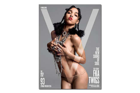 23 Sultry V Magazine Covers - From Backside-Flashing Celebrity Covers to Old Hollywood Glamtography