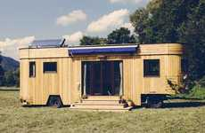 Self-Sufficient Trailer Homes - The Wohnwagon Trailer Home Can Fend For Itself