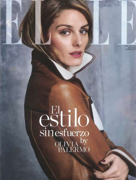 Richly Warm Fashion - The Olivia Palermo ELLE Spain Editorial is Shot by Her Husband Johannes Huebel