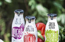Savory Spanish Soups - This New Vegetable Beverage is Made from Traditional Spanish Ingredients