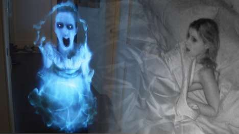 Ghoulish Hologram Pranks - This Daring Man Used Technology to Set Up an Epic Ghost Prank