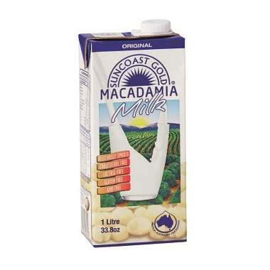 Macadamia Nut Milks - Suncoast Gold's Dairy-Free Milk is Made with Slow-Roasted Macadamia Nuts