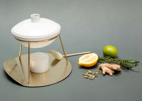 Homemade Fragrance Dispensers - This Moroccan-Inspired Pot Lets Users Cook & Create Their Own Aromas