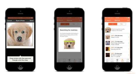 Biometric Pet Apps - The 'Finding Rover' App Uses Facial Recognition Technology to Find Lost Pets