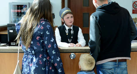 Child Concierge Services - Hotel Concierge Noah Reeves-Walters Answers the Questions of Other Kids