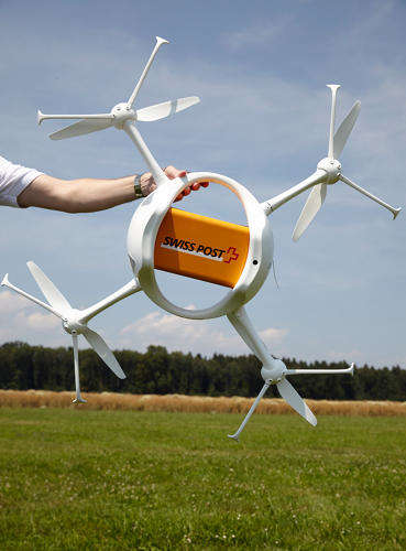 Mail-Delivering Drones - These Handy Drones will Help Mail Services without Replacing Mail Carriers