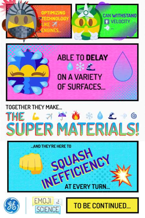 Superhero-Inspired Emojis - These Emojis Help Educate People About Advanced Manufacturing Materials