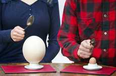 Exotic Egg Menus - This Eatery Offers Massive Fried Ostrich Eggs Instead of 24 Regular Eggs