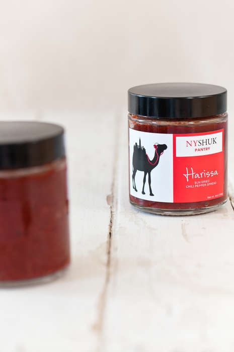 Spicy North African Condiments - This Harissa Sauce is Perfect for Adding Spice to Any Dish
