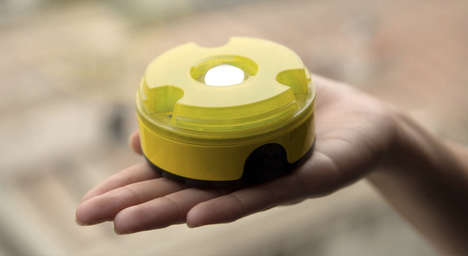 Modular Solar Lights - The Adaptable SULI Portable Solar Lamp Attaches to 3D Printed Accessories