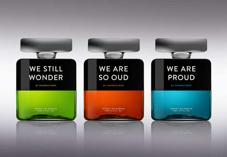 Mood-Defining Perfume Labels - The 'We' Fragrance Bottles Pair Different Scents & Specific Emotions