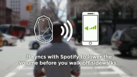 Musical Safety Beacons - 'Safetify' Improves the Safety of Pedestrians Listening to Music