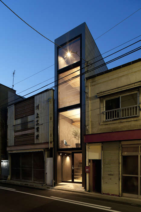 Super Slender Houses - This Compact Dwelling Measures Just 1.8 Meters in Length