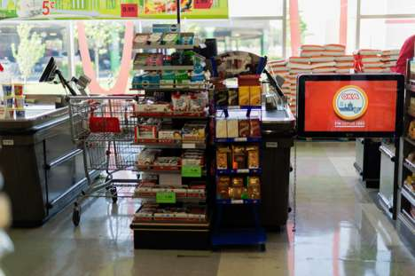 Grocery Marketing Screens - These Digital Retail Screens Improve Sales and Security at IGA Stores