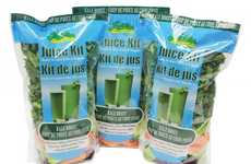 Superfood Juice Kits - This Freshline Foods Kit Supplies Ingredients to Make Fresh Vegetable Juice