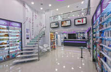 Futuristic Pharmacy Interiors