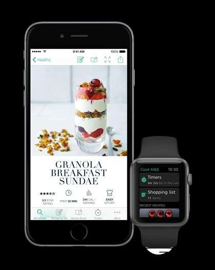 Food Preparation Apps - Marks and Spencer is a Culinary Guide in This Mobile Food Preparation App