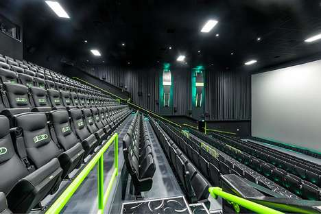 18 Tech-Focused Cinemas - From Motion-Enhanced Seating to Tri-Paneled Screens