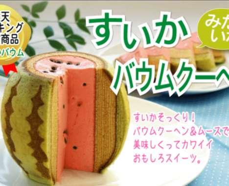Imitation Watermelon Cakes