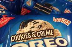 Meta Cookie Flavors - The Cookies and Cream Oreo is the Latest Chocolate Sandwich Cookie Flavor