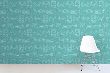 Retro Video Game Wallpaper - This Gamer Wall Decor is Perfect for Geeky Children