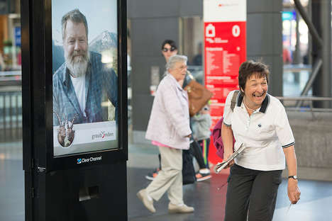 Interactive Yodeling Billboards - This Tourism Marketing Stunt Has People Yodel for a Trip