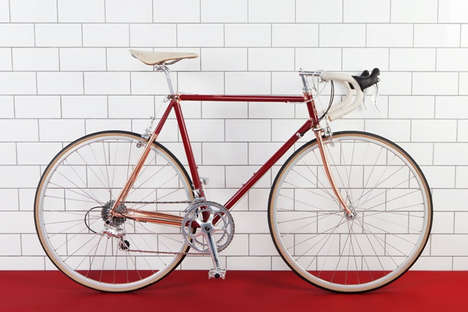 Co-Branded Bicycle Collections - The Ted Baker x Quella Collection is Fit for Stylish Millennials