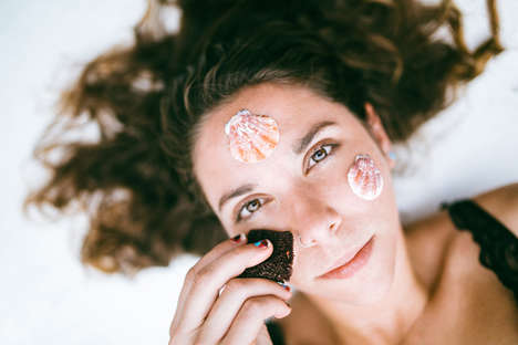 Seaweed Facial Cleanswers - Mermaid Scrubbers Act as a Natural Face Cleanser and Exfoliating Toner