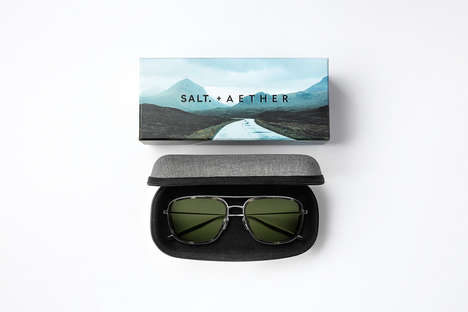 Aspirational Eyewear Branding - SALT + AETHER Eyewear is Inspired by Motorcycle Culture