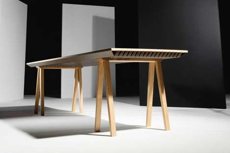 Room-Cooling Dining Tables - This Versatile Table Helps Diffuse Heat and Keep Rooms Cool