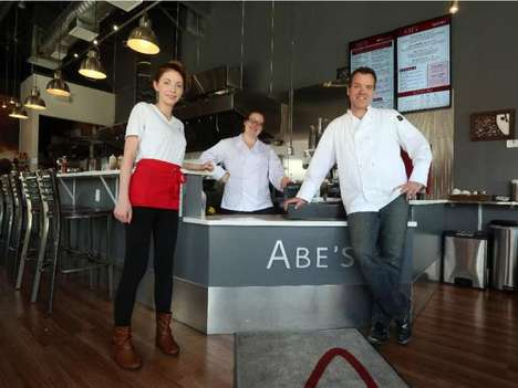 Canadian Comfort Restaurants - Abe's Fast Casual Restaurant Takes Orders from a High-Tech Counter
