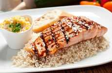 Casual Fusion Grills - The Ahi Mahi Fish Grill Fusion Restaurant Blends BBQ and Asian Flavors