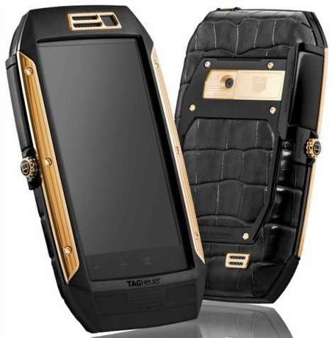 56 Luxurious Cellphones - From Diamond-Encrusted Mobiles to Opulent Marble Mobiles