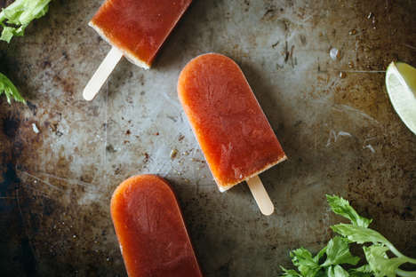 Adult-Appropriate Ice Pops - This Bloody Mary-Inspired Boozy Popsicle Recipe Will Cure Hangovers