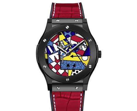 Luxurious Neo-Pop Watches