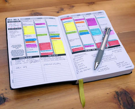 25 Organizational Notebooks
