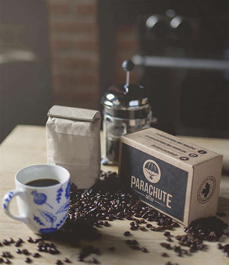 Assorted Coffee Subscriptions - The Parachute Kit Delivers Freshly Roasted Coffee Monthly