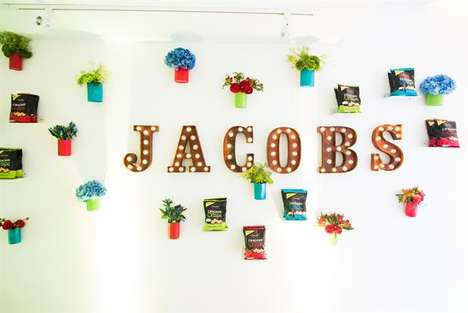 Savory Cocktail Pop-Up Bars - Crackers Brand Jacob's Hosted a Snacktail Bar in London's Soho