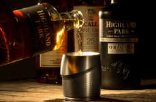 Ergonomic Whiskey Tumblers