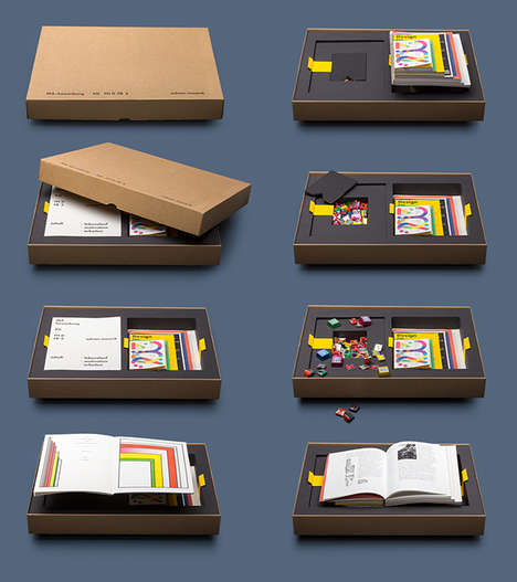 Candy-Filled Portfolios - Adrian Meseck's Designer Portfolio Includes Seven Books & Wrapped Sweets