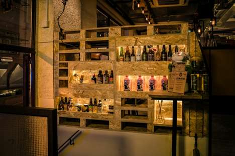 Upcycled Pub Interiors - Hong Kong's Crafty Cow Gastropub Makes Use of New and Reclaimed Materials