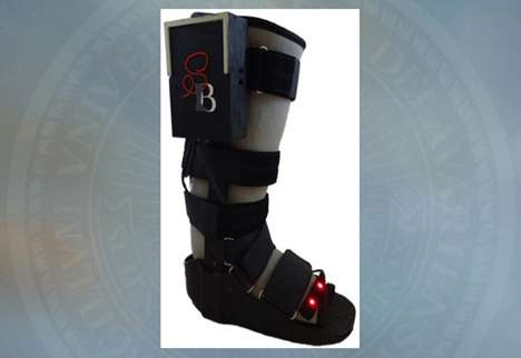 Data-Tracking Orthopedic Boots - This Orthopedic Walking Boot Helps Doctors Monitor Their Patients