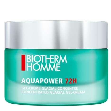 Concentrated Glacial Moisturizers - Biotherm Homme's Aquapower 72H Locks Moisture In For 72 Hours