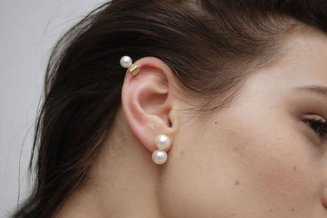 Exclusive Pearl Collections - The Saskia Diez Jewelery Focuses on a Series of Consistent Looks
